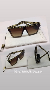 Metal & Leopard Sunnies