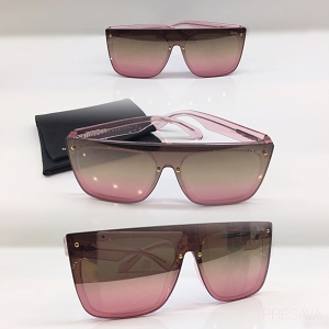 Blush Abstract Sunglasses