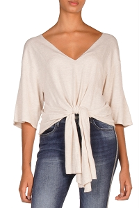Adrian Vneck Knit Top