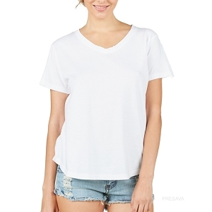 Girlfriend Vneck Tee
