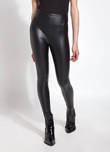 Haylen Vegan Leather Leggings (Call to pre-order)
